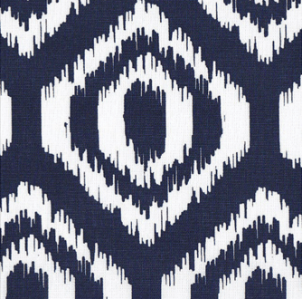 Home Essentials Navy Scratch Geometric fabric