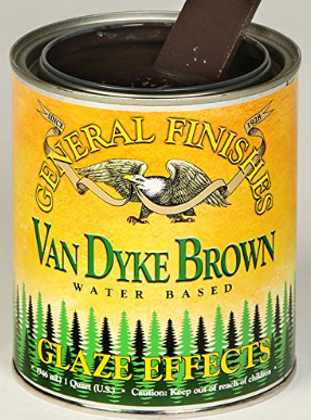 General Finishes Van Dyke Brown Glaze