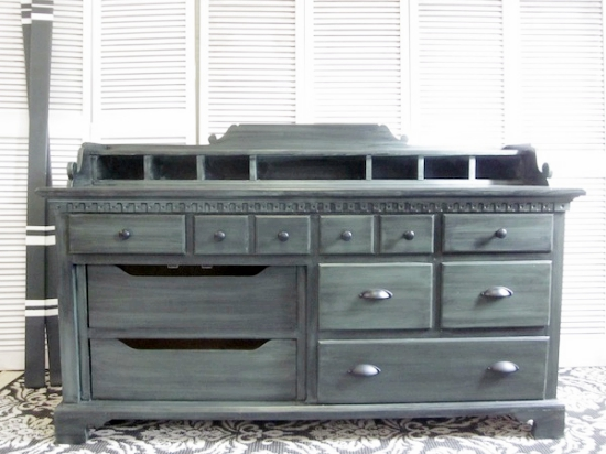 Old world sideboard buffet