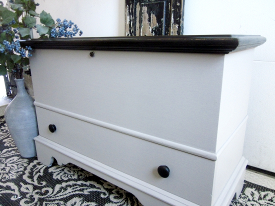 Gray Storage Chest