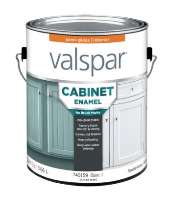 Valspar Cabinet Enamel paint