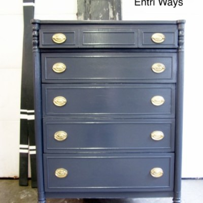 Using Hockey Stick Wax to Repair an Antique Dresser