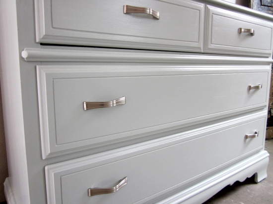 Light Blue Dresser, Woodlawn Blue