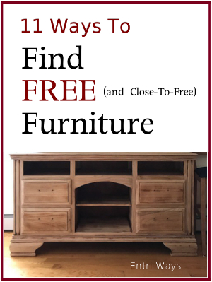 11 Ways to Find Free Furniture