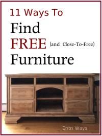 11 Ways to Find Free Furniture
