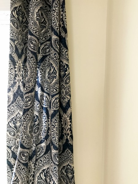 Blue Keegan Curtain panel