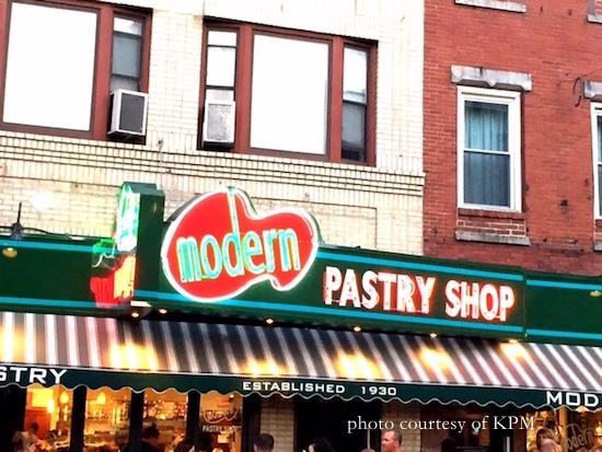 Modern Pastry Shop Boston