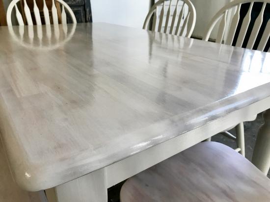 White Washed Maple Table Entri Ways