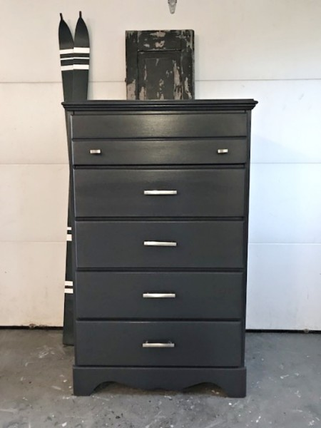 tall abyss blue dresser