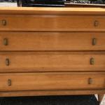 natural maple dresser