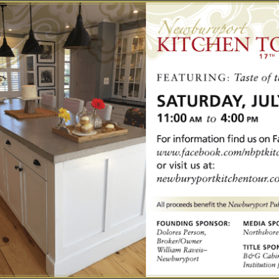17th Annual Newburyport Kitchen Tour – Saturday July 29th