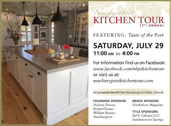 Newburyport Kitchen Tour 2017