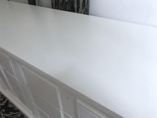 Dixie Dresser, Long White MCM dresser
