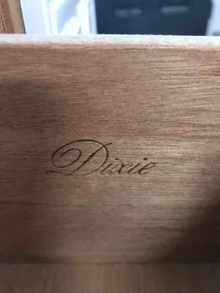 Dixie Dresser, Long White 9 drawer dresser