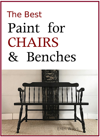 Best paint for chairs and benches