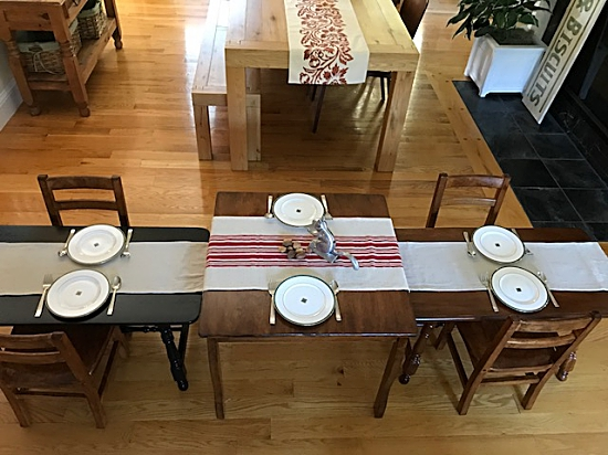 Marsilona Dining Room Table Large Kids Tables Stained Chairs