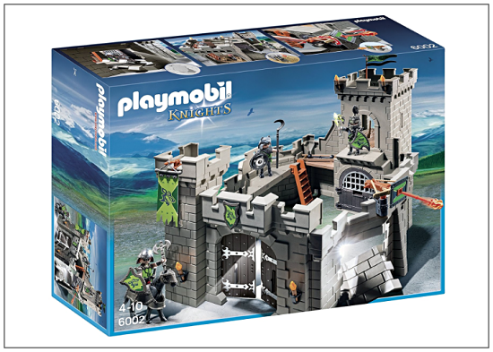 Gifts for Boys, Playmobil Knights Castle