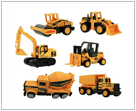 Gifts for Boys, Toy Construction Trucks