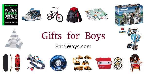 GIfts for Boys collage