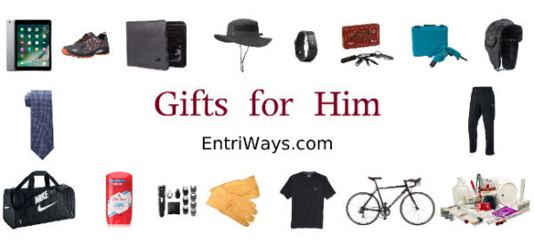 Gifts for Him collage
