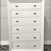 Tall China white dresser