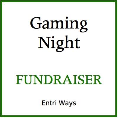 School Gaming Night Fundraiser