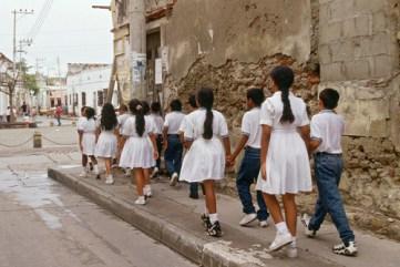 Cartagena de Indias, Colombia 1997. Gloria Rodríguez