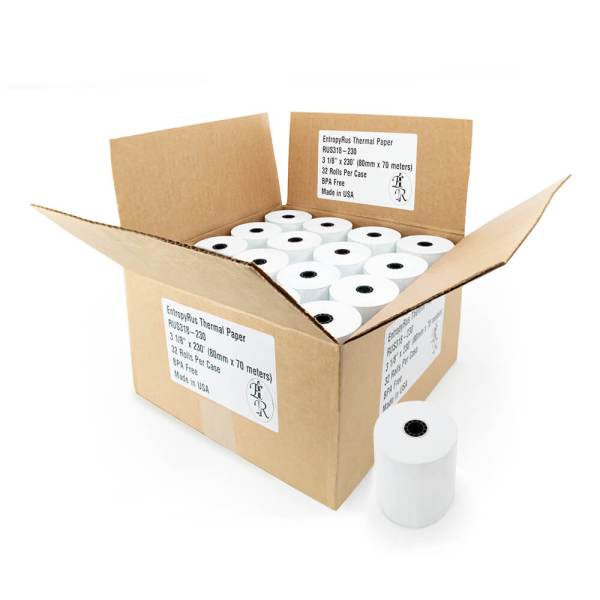 3.125 x 230 Thermal paper rolls - EntropyRus