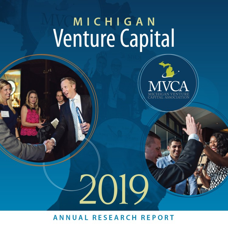 2019 Detroit Entrepreneurial Ecosystem Report cover - square