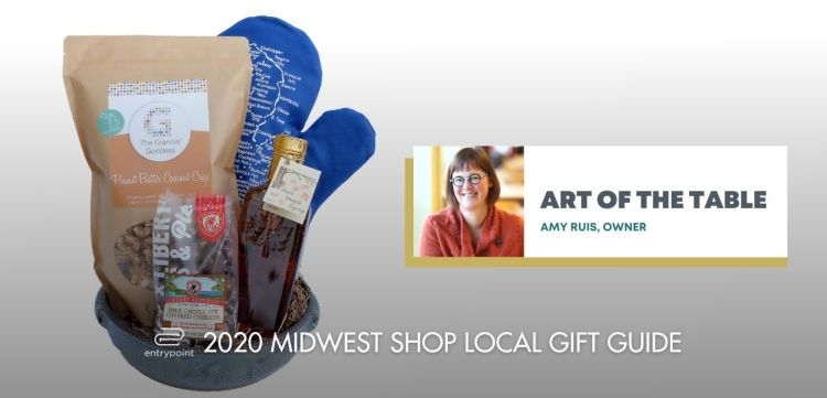 ENTRYPOINT 2020 MIDWEST LOCAL GIFT GIFT GUIDE FOR ADULTS - ART OF THE TABLE