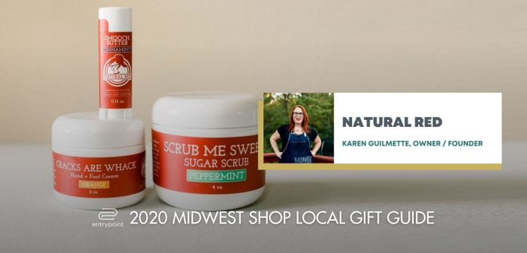 ENTRYPOINT 2020 MIDWEST LOCAL GIFT GIFT GUIDE FOR ADULTS - NATURAL RED