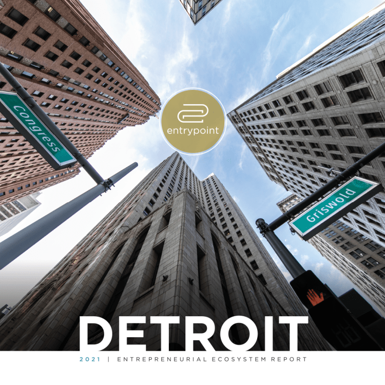 Square Cover - EntryPoint 2021 Detroit Entrepreneurial Ecosystem Report