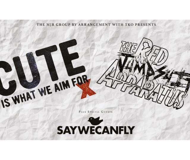 Cute Is What We Aim For The Red Jumpsuit Apparatus Saywecanfly Picture