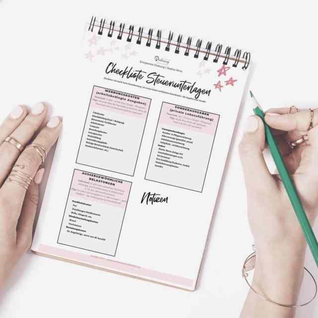 Steuer Checkliste