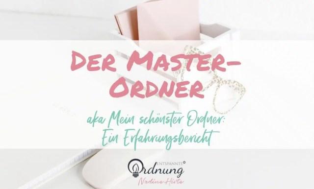 der master-ordner