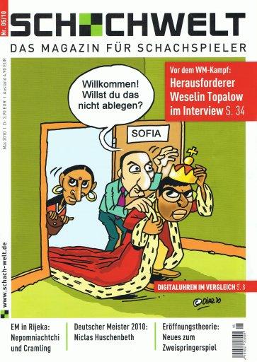Cover Schachwelt 0510