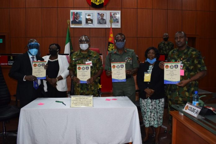 DSC 2461 1024x683 - Military, DICON and Unilorin signal MoU on the manufacture of composites for armour plating, army {hardware}