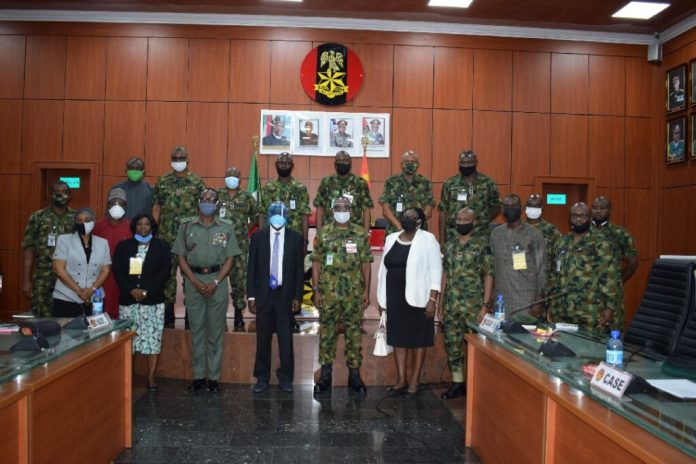DSC 2497 1024x683 - Military, DICON and Unilorin signal MoU on the manufacture of composites for armour plating, army {hardware}