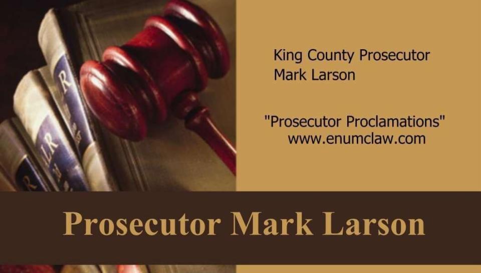 Prosecutor Mark Larson