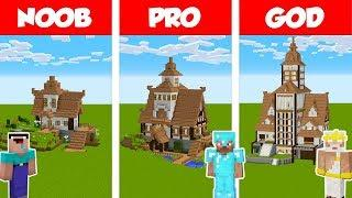 How to Transform a Minecraft Village House L SHAPED
