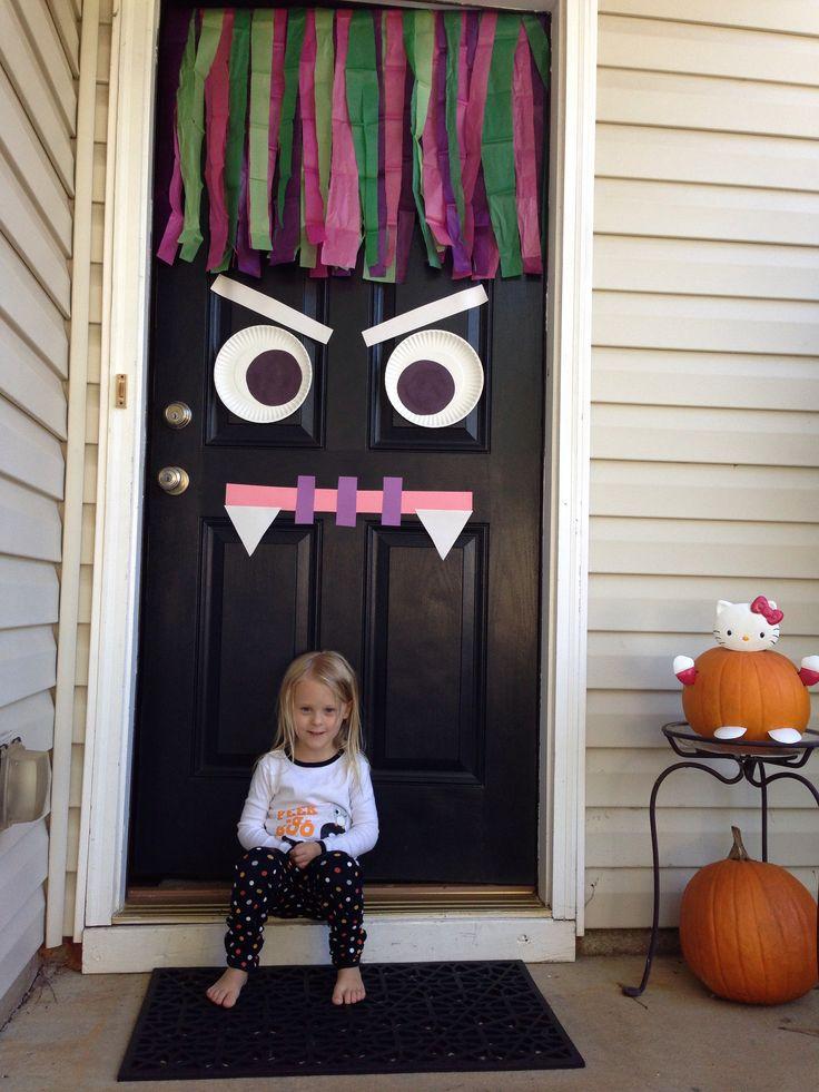 Halloween decoramosla puerta  En un pas muy lejano