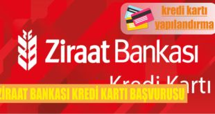 ziraat bankasi kredi karti