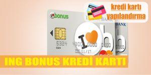 ing bonus kredi karti