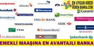 Emekli Maaşına En Avantajlı Banka