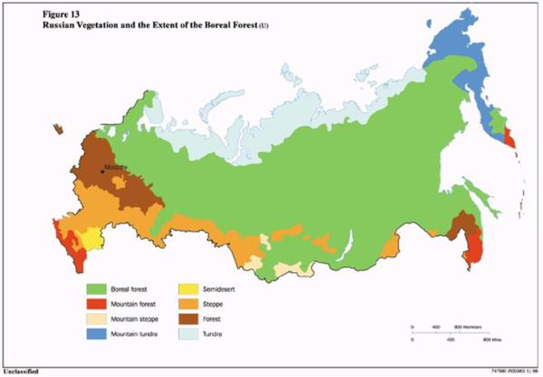 Geography and Climate Water Resources in Russia