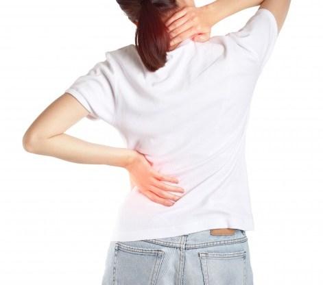 Costas dor causas de nas