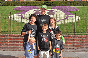 Our Family at Disneyland 2013