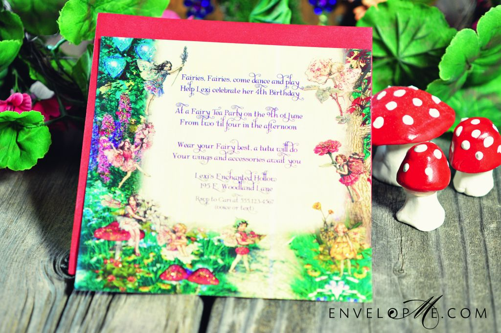 an enchanted diy fairy birthday party