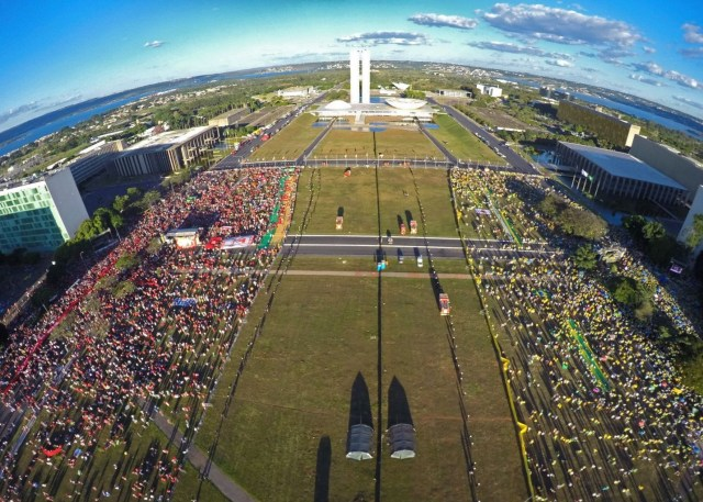 Impeachment protests in Brazil