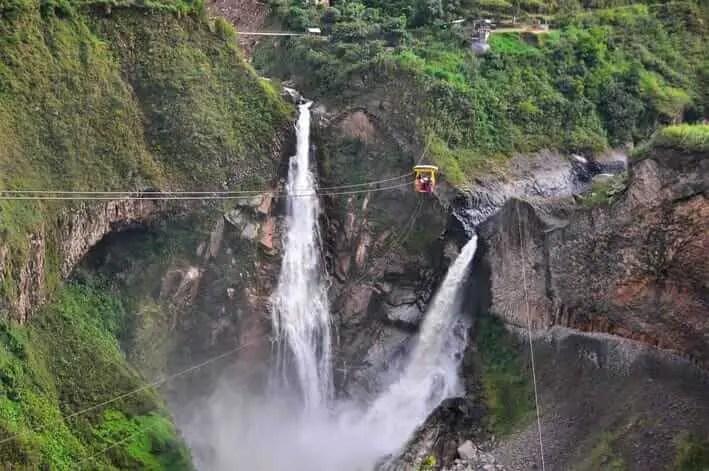 Lugares Turisticos de Ecuador Agua Santa